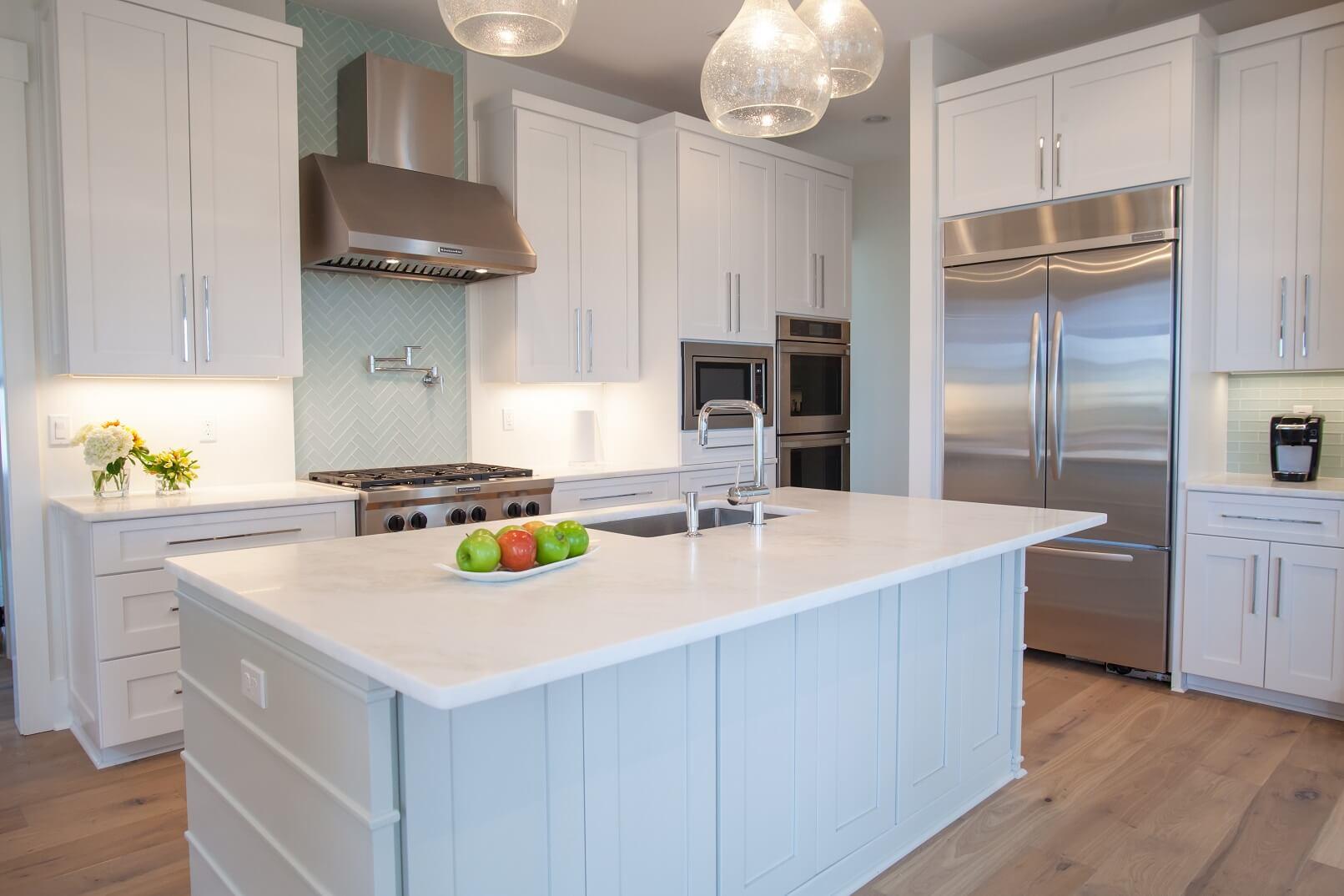 Rhino White Honed Superior Granite Natural Stone Quartz Supplier Fabrication Installation In Pensacola Pace Fl